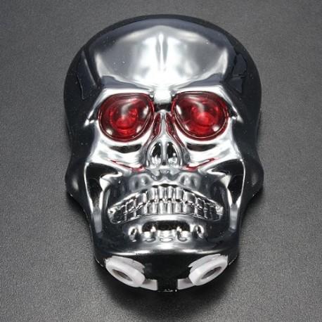 Skull Light with Dual Laser for Bikes