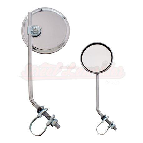 Round Mirror Chrome