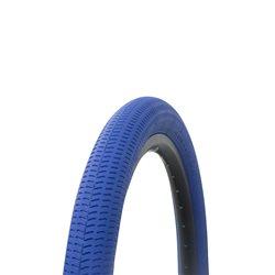"Tire 18"" x 1.95"" Blue/Blue Side Wall P-1208"