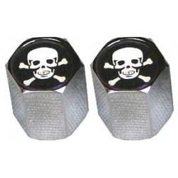 Skull Lug Nut Valve Caps