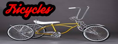 Street Lowrider Tricycles Parts and Bicycles